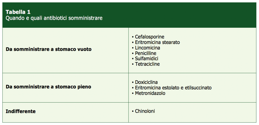 Quali-antibiotici-somministrare-Farmaci Veterinari-Medical Evidence